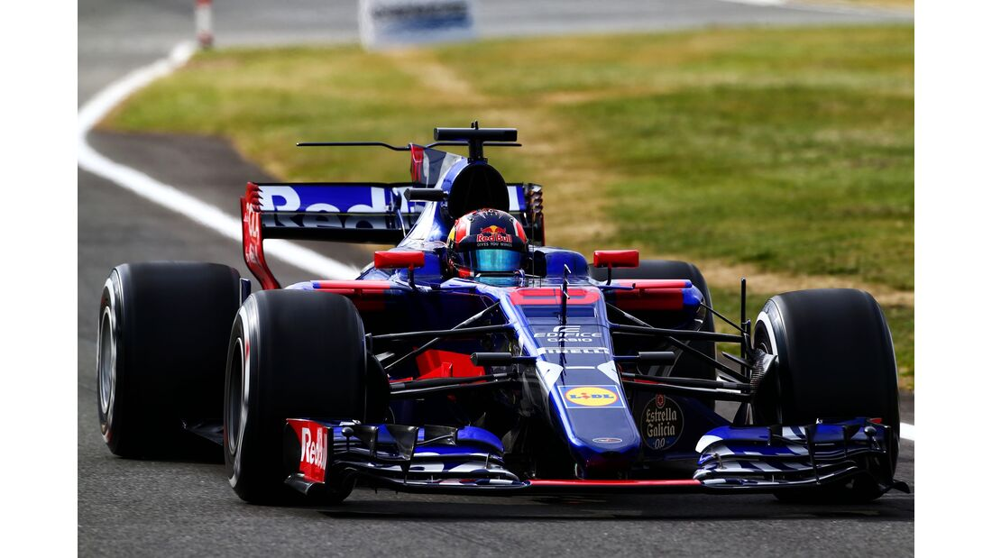 Daniil Kvyat - Toro Rosso - Formel 1 - GP England - 14. Juli 2017
