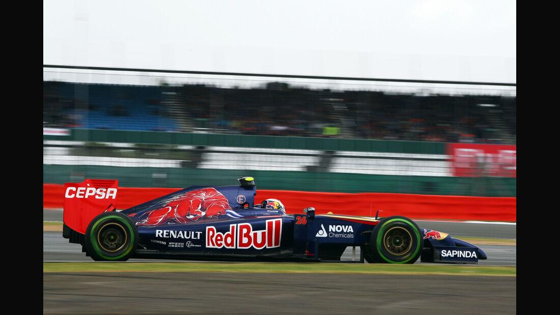 Daniil Kvyat - Toro Rosso - Formel 1 - GP England - Silverstone - 5. Juli 2014