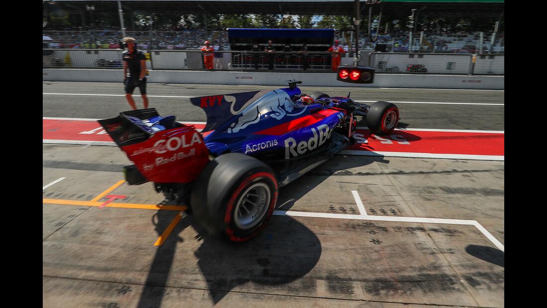 Daniil Kvyat  - Toro Rosso - Formel 1 - GP Italien - Monza - 1. September 2017
