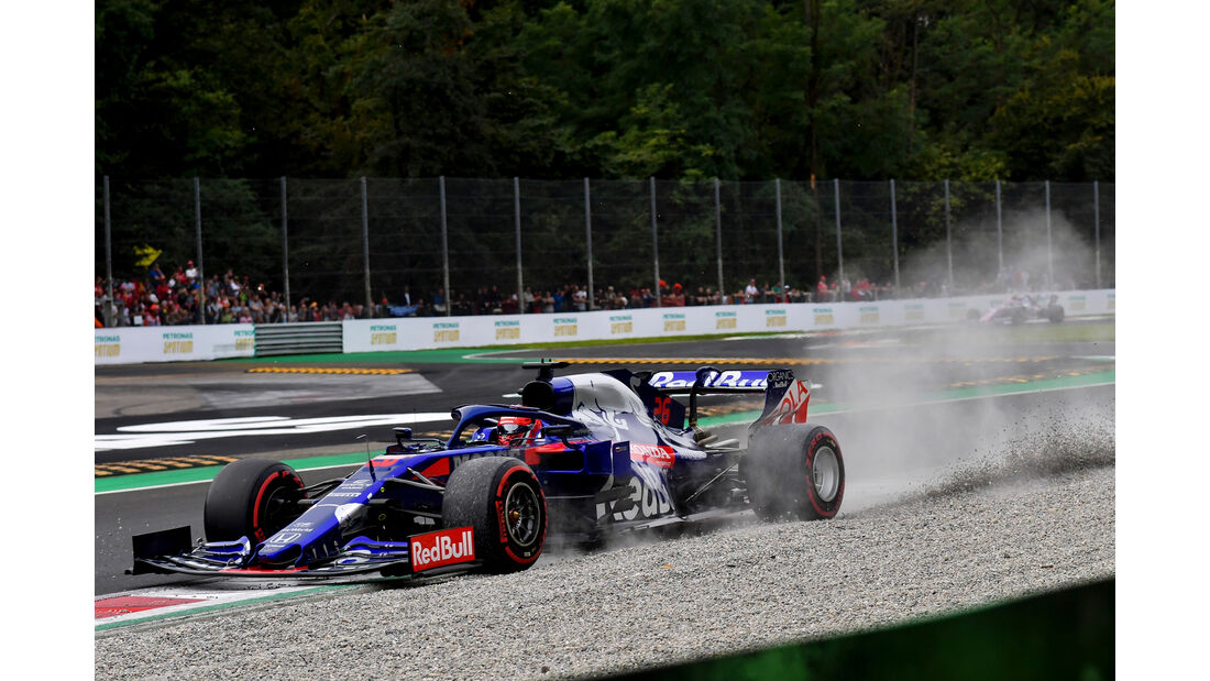 Daniil Kvyat - Toro Rosso  - Formel 1 - GP Italien - Monza - 7. September 2019