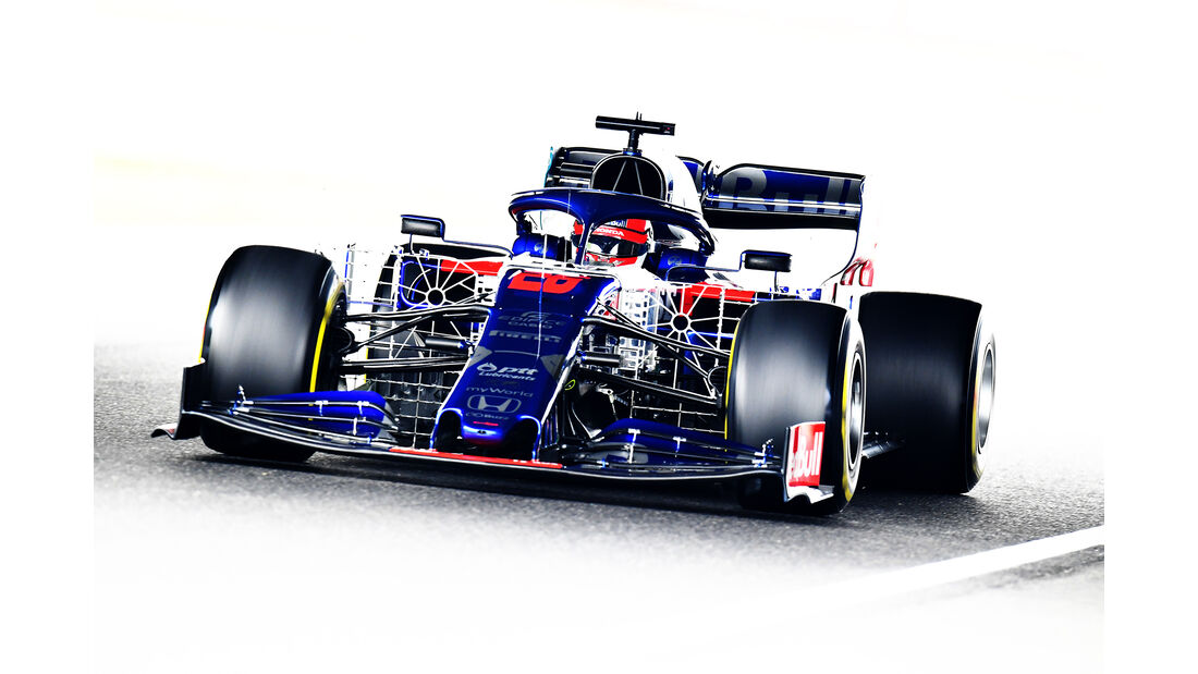 Daniil Kvyat - Toro Rosso - Formel 1 - GP Japan - Suzuka - 11. Oktober 2019