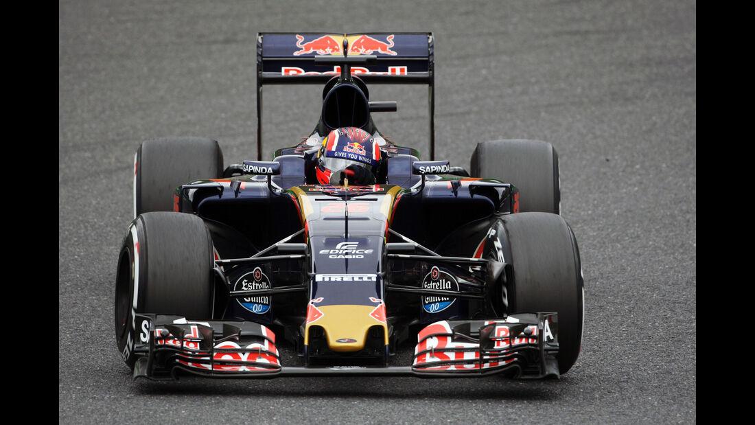 Daniil Kvyat - Toro Rosso - Formel 1 - GP Japan - Suzuka - Qualifying - Samstag - 8.10.2016
