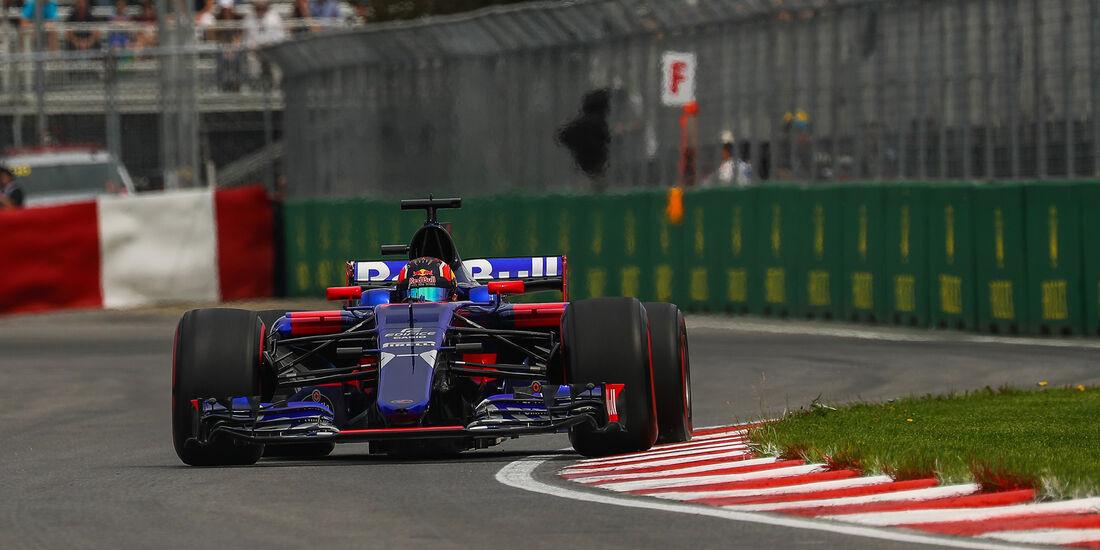 Daniil Kvyat - Toro Rosso - Formel 1 - GP Kanada - Montreal - 9. Juni 2017