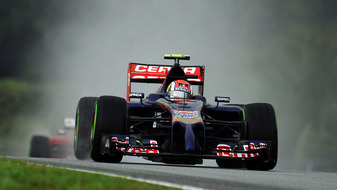 Daniil Kvyat - Toro Rosso - Formel 1 - GP Malaysia - Sepang - 29. März 2014
