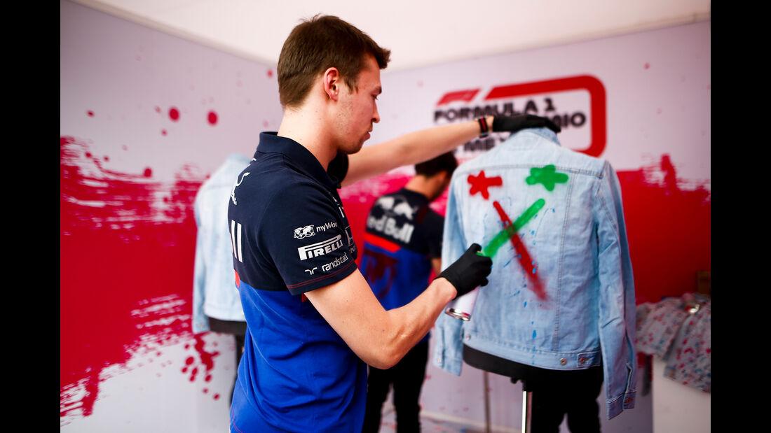 Daniil Kvyat - Toro Rosso - Formel 1 - GP Mexiko - 24. Oktober 2019