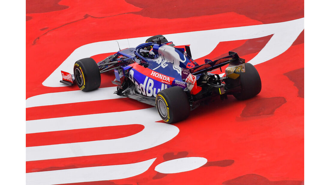 Daniil Kvyat - Toro Rosso - Formel 1 - GP Mexiko - 25. Oktober 2019