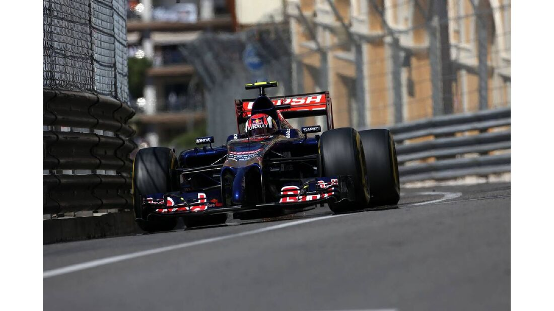 Daniil Kvyat - Toro Rosso  - Formel 1 - GP Monaco - 24. Mai 2014