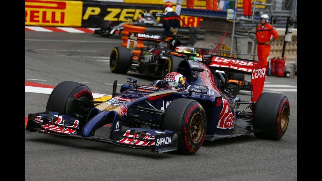 Daniil Kvyat - Toro Rosso  - Formel 1 - GP Monaco - 25. Mai 2014