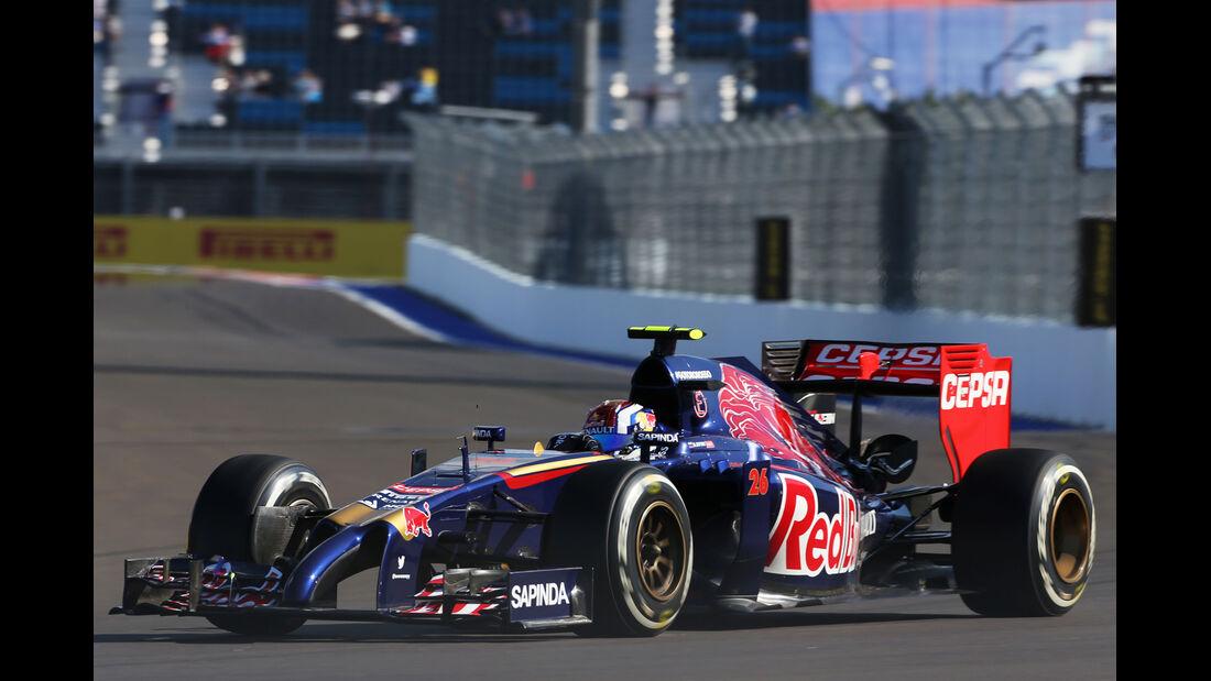 Daniil Kvyat - Toro Rosso - Formel 1 - GP Russland - 10. Oktober 2014