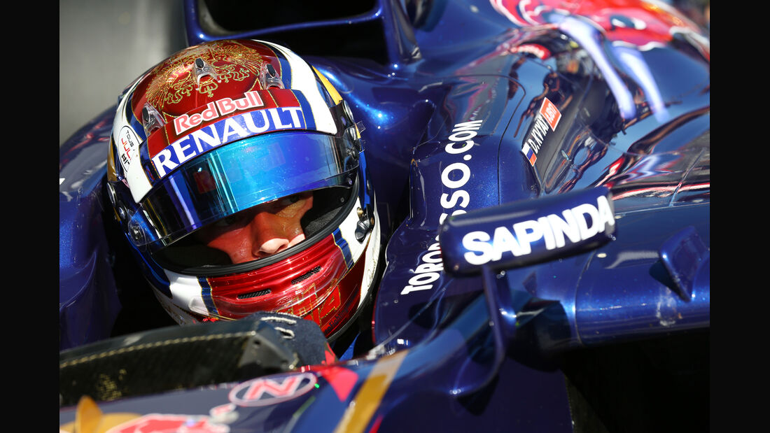 Daniil Kvyat - Toro Rosso - Formel 1 - GP Russland - 11. Oktober 2014