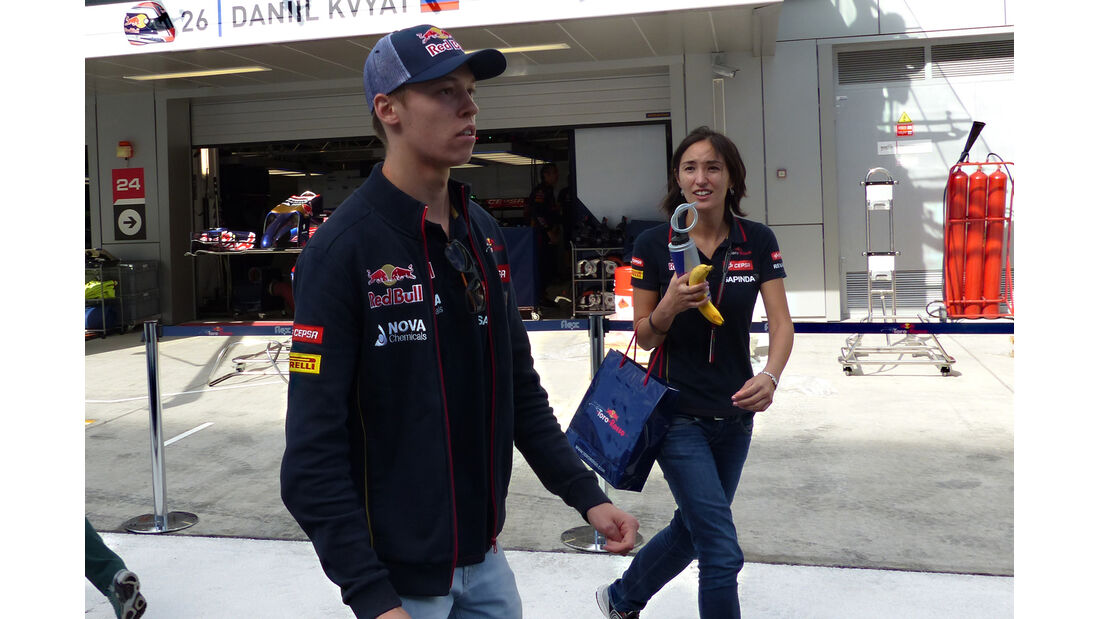 Daniil Kvyat - Toro Rosso - Formel 1 - GP Russland - Sochi - 9. Oktober 2014