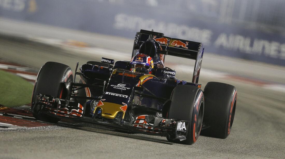 Daniil Kvyat - Toro Rosso - Formel 1 - GP Singapur - 17. September 2016