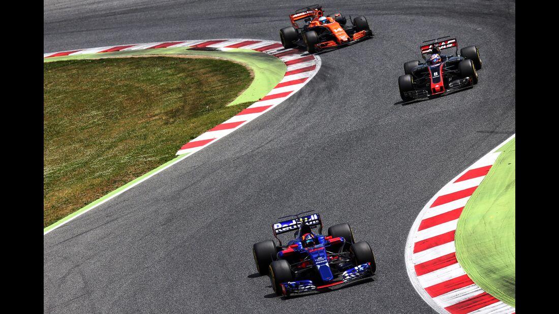Daniil Kvyat - Toro Rosso - Formel 1 - GP Spanien - 14. Mai 2017