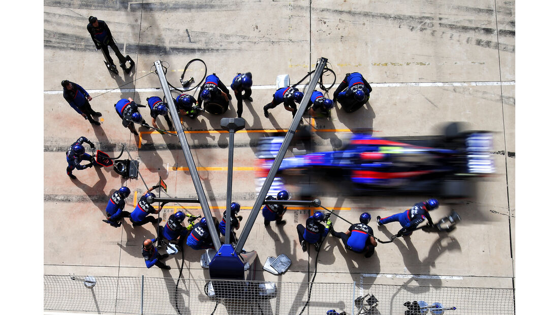 Daniil Kvyat - Toro Rosso  - Formel 1 - GP USA - Austin - 2. November 2019