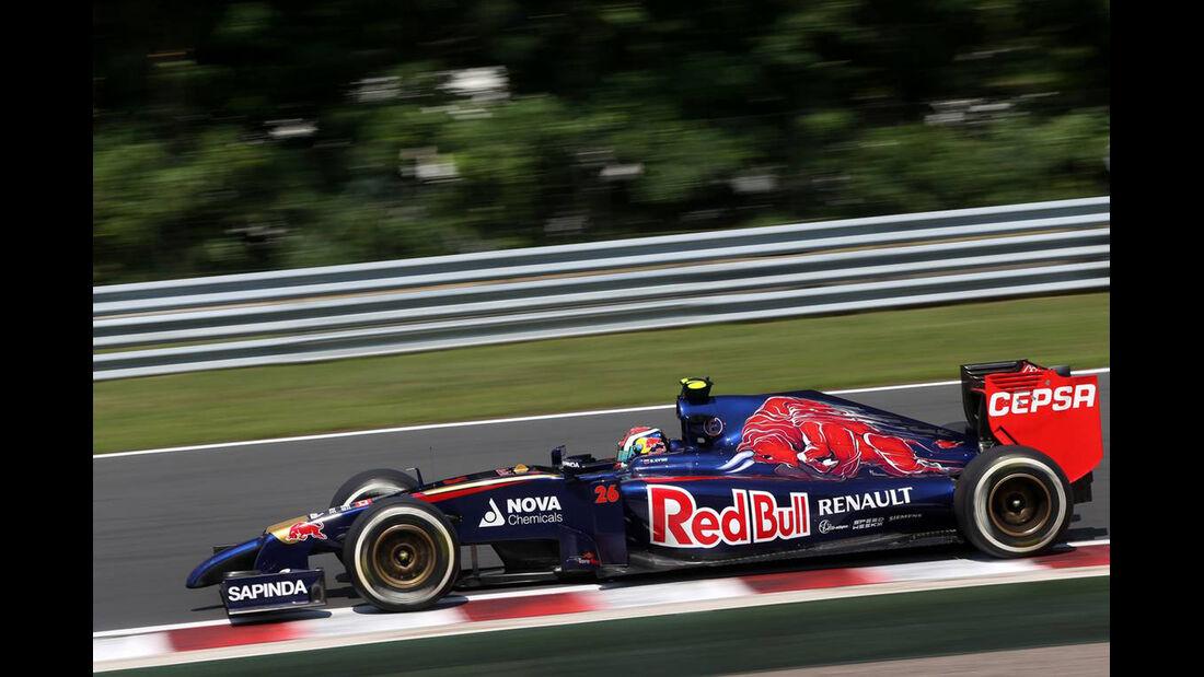 Daniil Kvyat - Toro Rosso - Formel 1 - GP Ungarn - 26. Juli 2014
