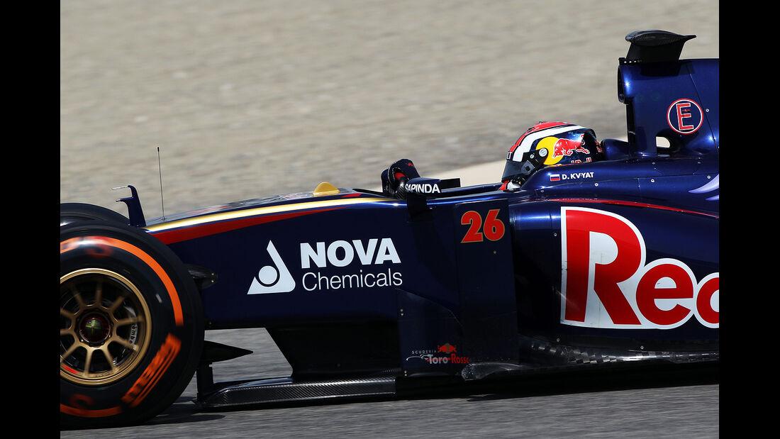 Daniil Kvyat - Toro Rosso - Formel 1 - Test - Bahrain . 27. Februar 2014