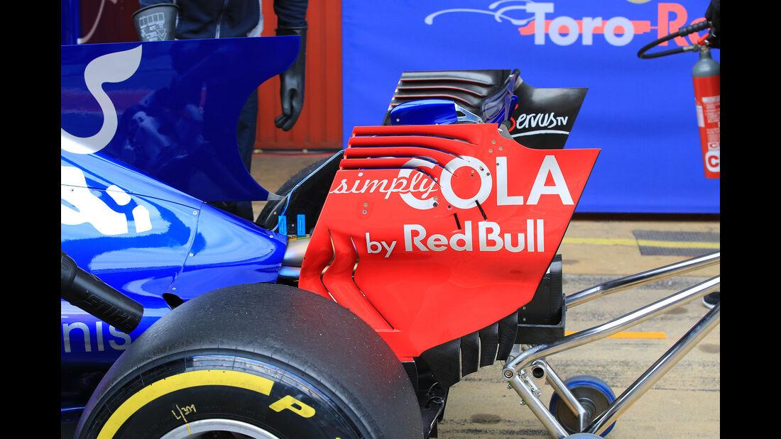 Daniil Kvyat - Toro Rosso - Formel 1 - Test - Barcelona - 1. März 2017
