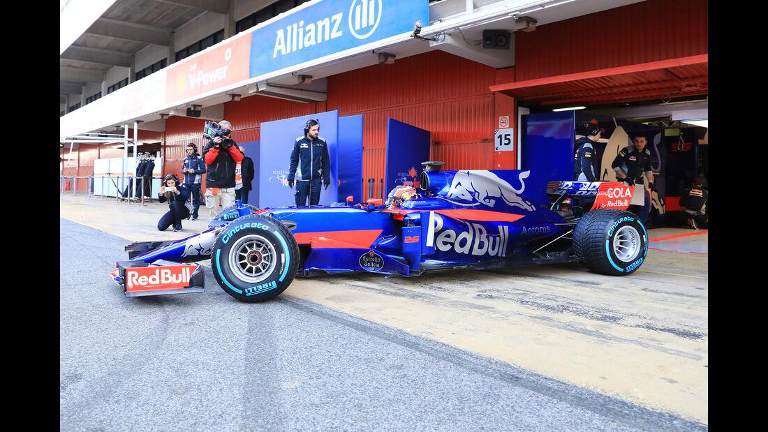 Daniil Kvyat - Toro Rosso - Formel 1 - Test - Barcelona - 2. März 2017