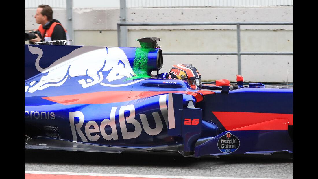 Daniil Kvyat - Toro Rosso - Formel 1-Test - Barcelona - 28. Februar 2017