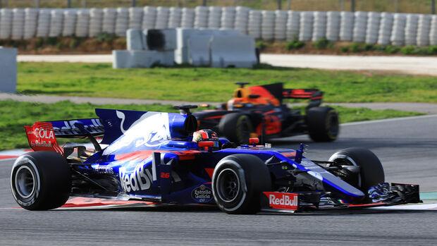 Daniil Kvyat - Toro Rosso - Formel 1 - Test - Barcelona - 28. Februar 2017