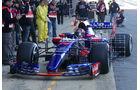 Daniil Kvyat - Toro Rosso - Formel 1 - Test - Barcelona - 7. März 2017