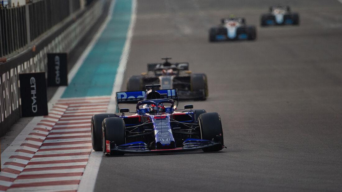 Daniil Kvyat - Toro Rosso - GP Abu Dhabi 2019 - Rennen