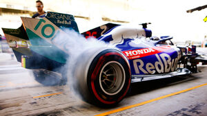 Daniil Kvyat - Toro Rosso - GP Abu Dhabi - Formel 1 - Freitag - 29.11.2019