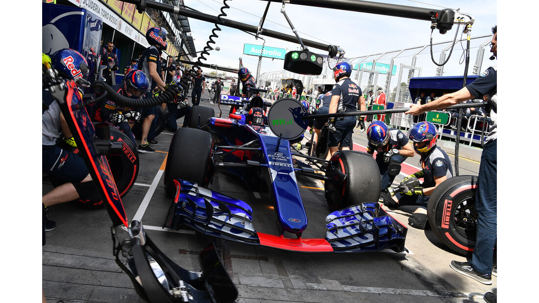 Daniil Kvyat - Toro Rosso - GP Australien - Melbourne - 24. März 2017
