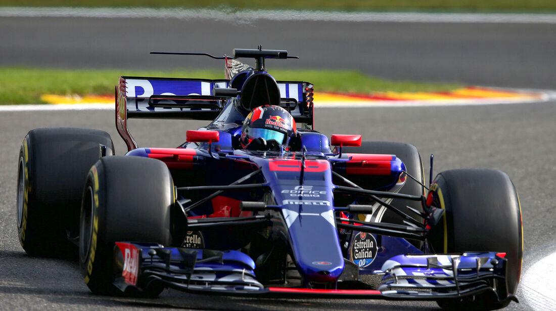 Daniil Kvyat - Toro Rosso - GP Belgien - Spa-Francorchamps - Formel 1 - 25. August 2017