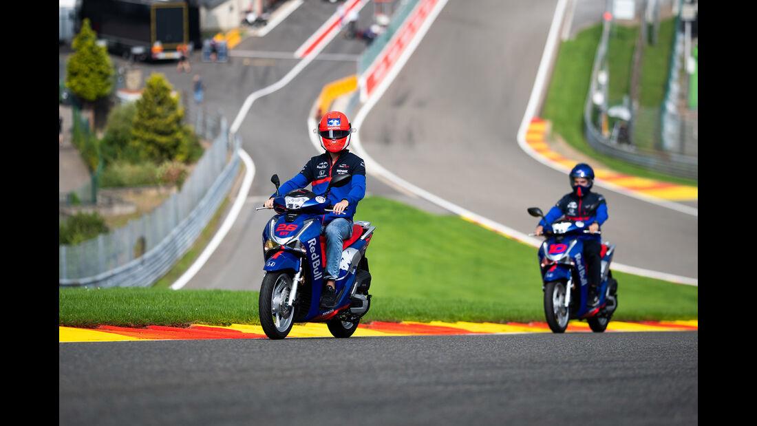 Daniil Kvyat - Toro Rosso - GP Belgien - Spa-Francorchamps - Formel 1 - Donnerstag - 29.8.2019