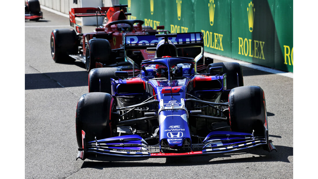 Daniil Kvyat - Toro Rosso - GP Belgien - Spa-Francorchamps - Formel 1 - Freitag - 30.08.2019