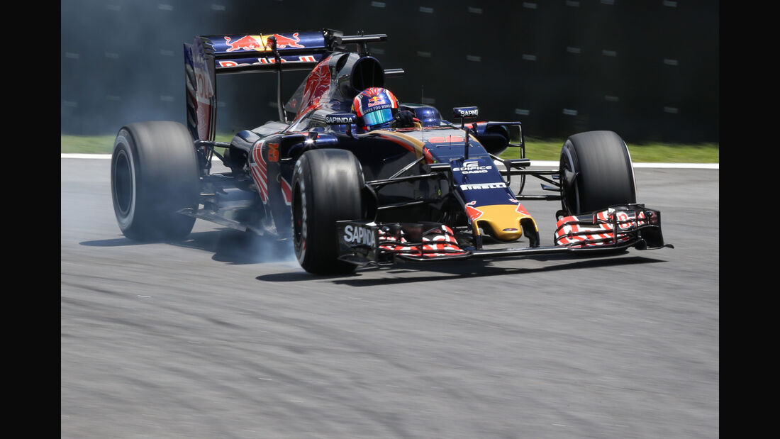 Daniil Kvyat - Toro Rosso - GP Brasilien - Interlagos - Freitag - 11.11.2016