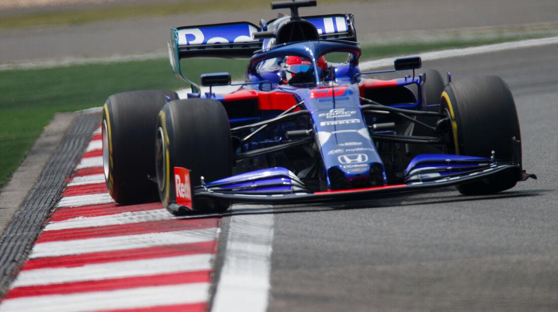 Daniil Kvyat - Toro Rosso - GP China - Shanghai - Formel 1 - Freitag - 12.4.2019