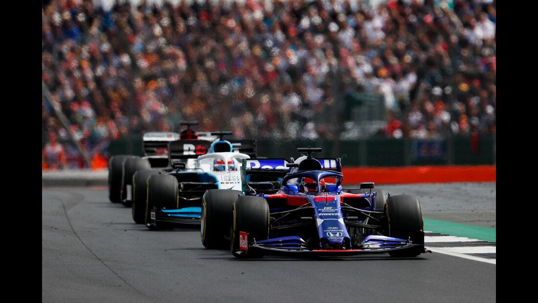 Daniil Kvyat - Toro Rosso - GP England 2019 - Silverstone - Rennen