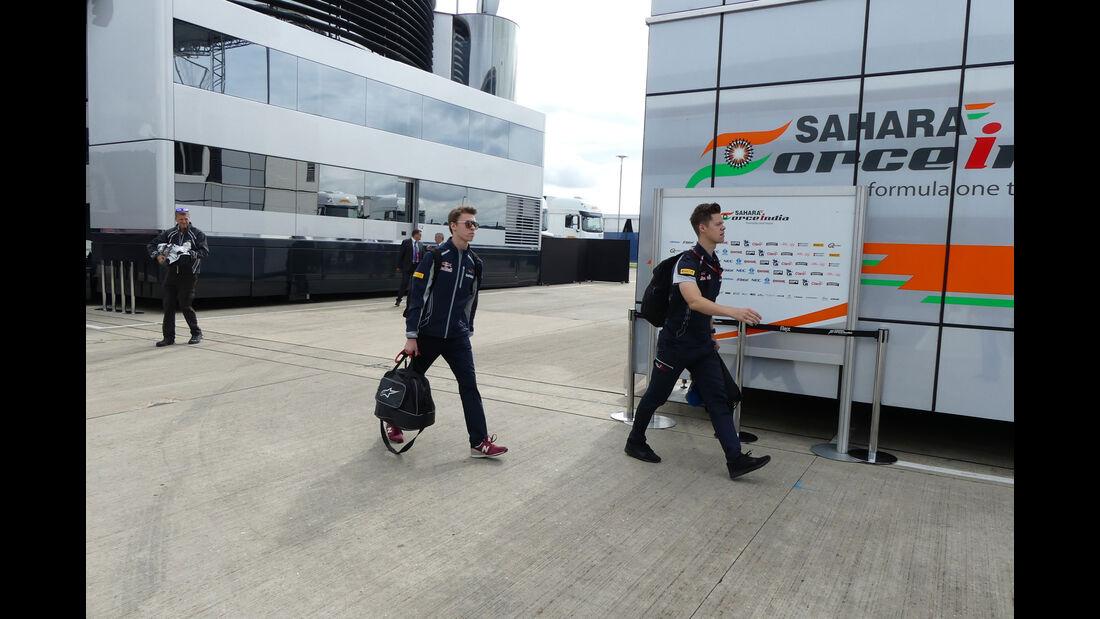 Daniil Kvyat - Toro Rosso - GP England - Silverstone - Formel 1 - Donnerstag - 7.7.2016