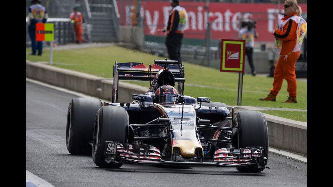 Daniil Kvyat - Toro Rosso - GP England - Silverstone - Formel 1 - Freitag - 8.7.2016
