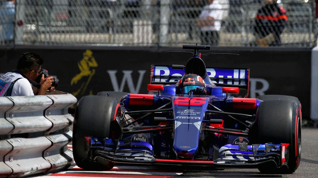 Daniil Kvyat - Toro Rosso - GP Monaco - Formel 1 - 25. Mai 2017