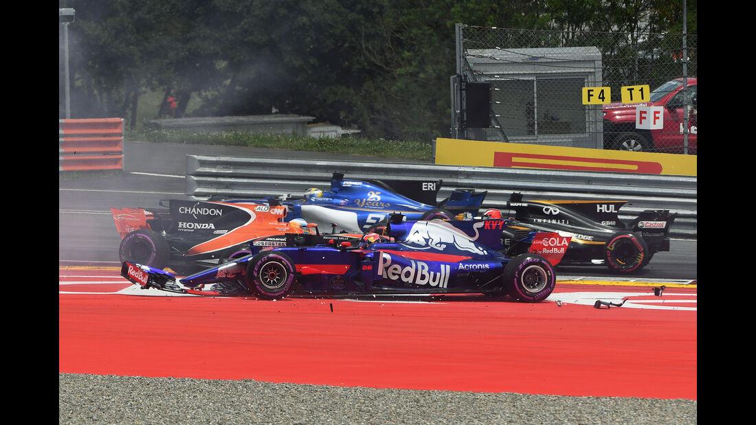 Daniil Kvyat - Toro Rosso - GP Österreich 2017 - Spielberg - Rennen