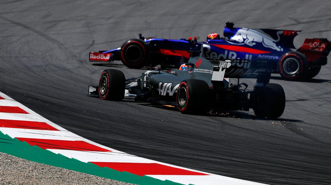 Daniil Kvyat - Toro Rosso - GP Österreich - Spielberg - Formel 1 - Freitag - 7.7.2017