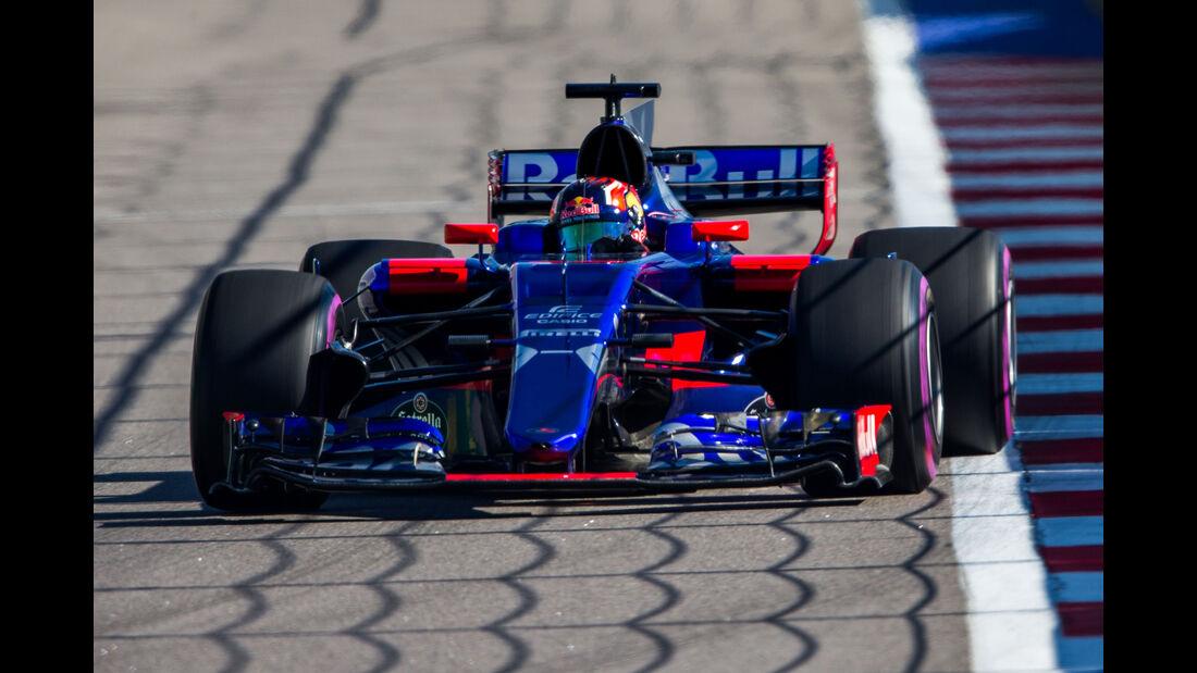 Daniil Kvyat - Toro Rosso - GP Russland 2017