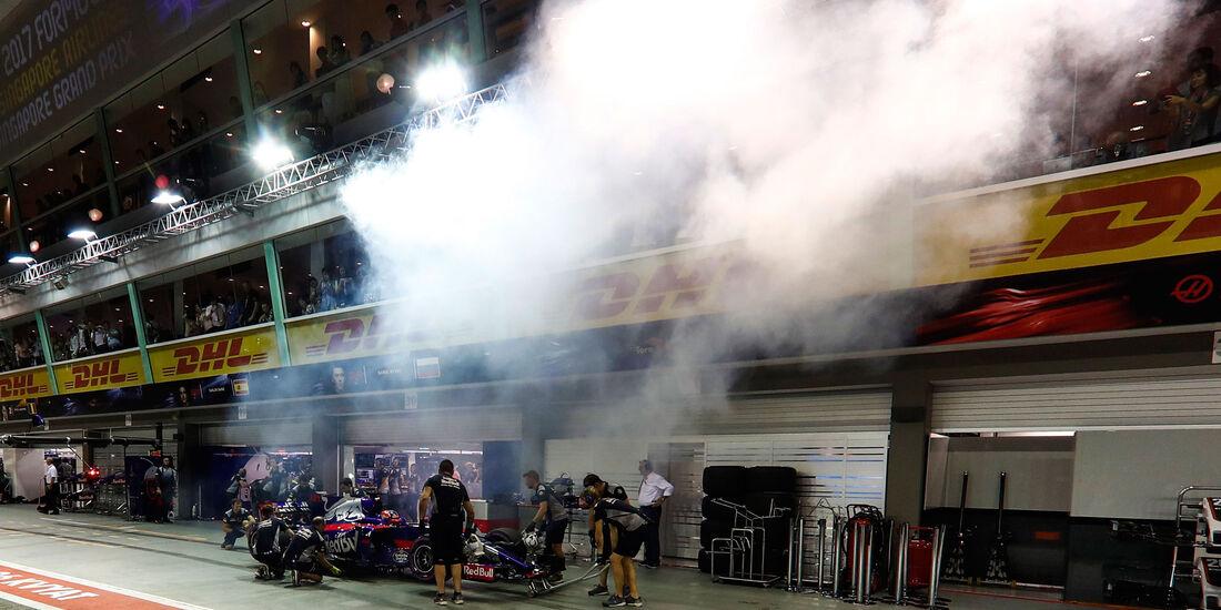 Daniil Kvyat - Toro Rosso - GP Singapur - Qualifying