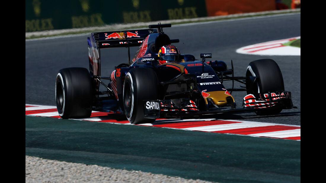 Daniil Kvyat - Toro Rosso - GP Spanien 2016 - Barcelona - F1 - Freitag - 13.5.2016