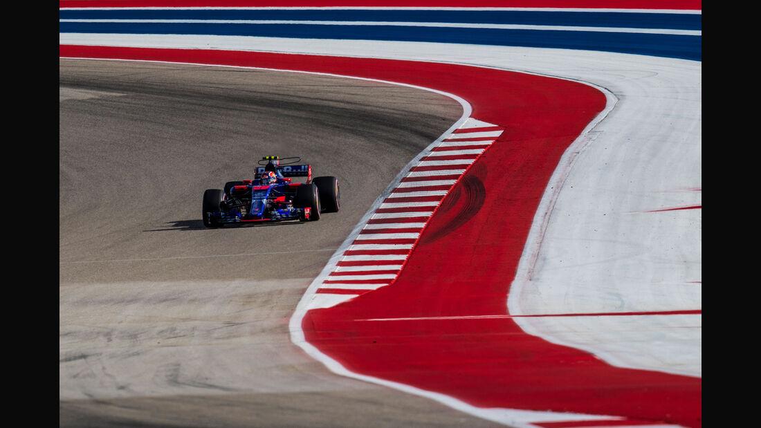 Daniil Kvyat - Toro Rosso - GP USA 2017 - Qualifying