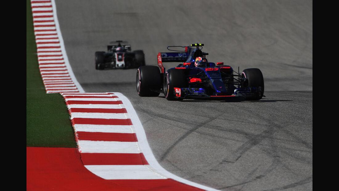 Daniil Kvyat - Toro Rosso - GP USA 2017 - Rennen