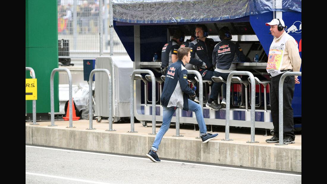 Daniil Kvyat - Toro Rosso - GP USA - Austin - Formel 1 - Freitag - 20.10.2017