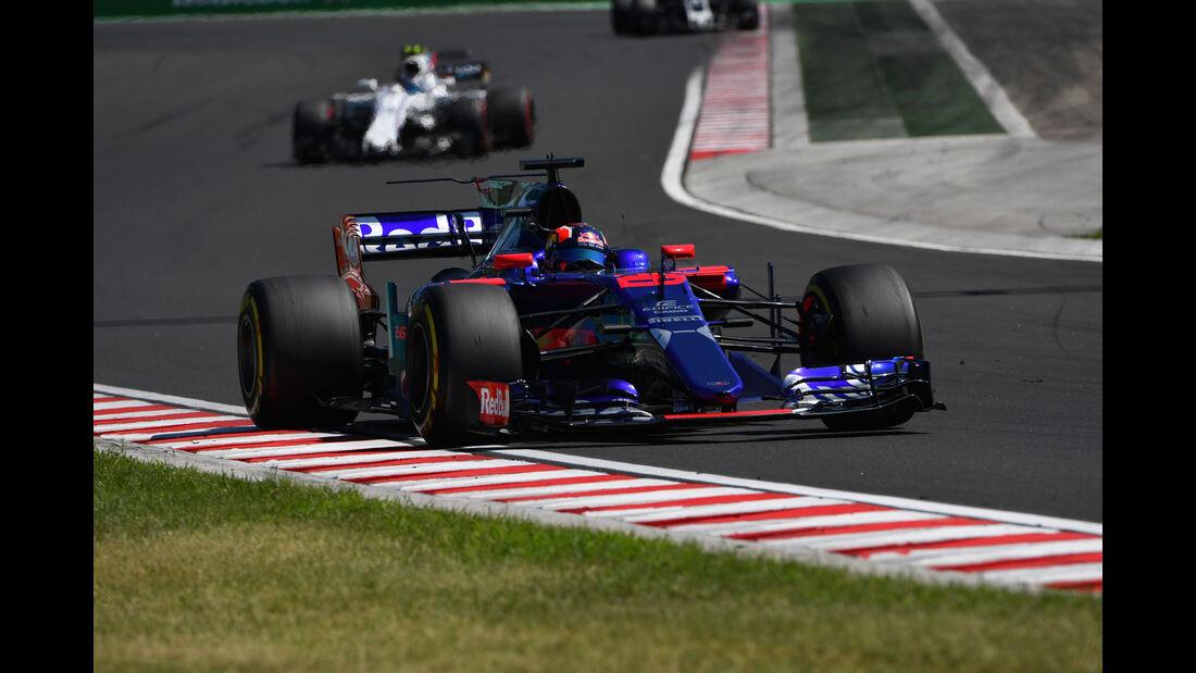 Daniil Kvyat - Toro Rosso - GP Ungarn 2017 - Budapest