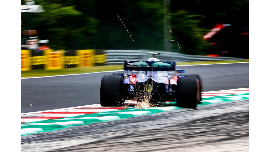 Daniil Kvyat - Toro Rosso - GP Ungarn - Budapest - Formel 1 - Freitag - 1.8.2019