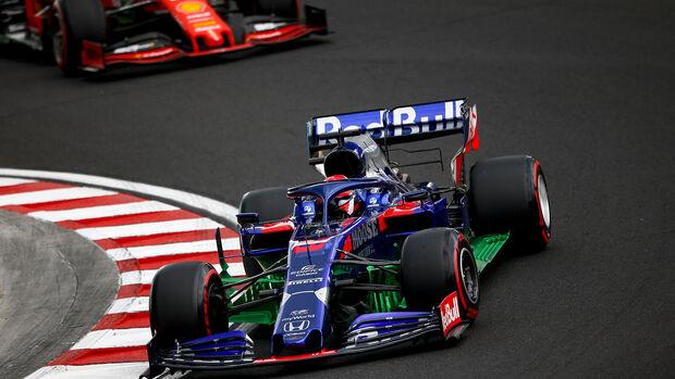 Daniil Kvyat - Toro Rosso - GP Ungarn - Budapest - Formel 1 - Freitag - 2.8.2019