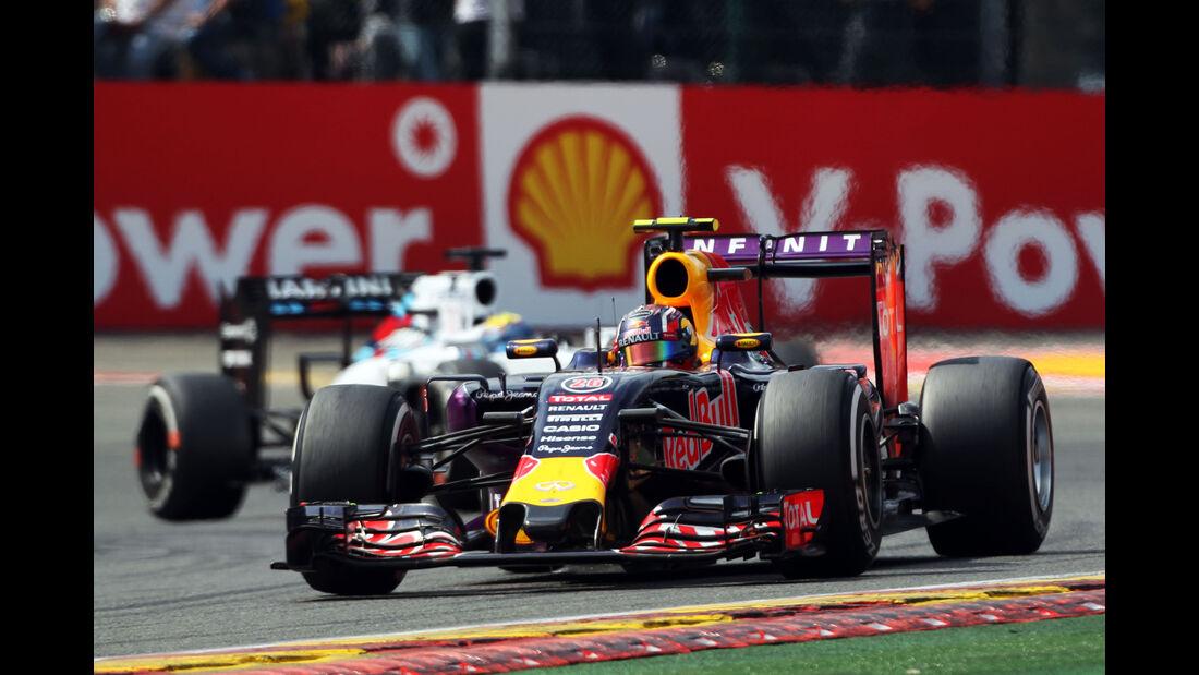 Danill Kvyat - GP Belgien 2015