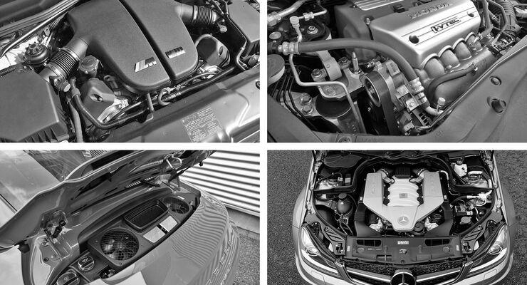 Das Ende der Saugmotoren, Collage, Sauger gegen Turbo